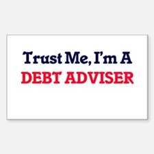 Trust me, I'm a Debt Adviser Decal