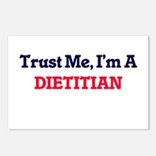 Trust me, I'm a Dietitian Postcards (Package of 8)