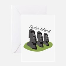 Easter Island Greeting Cards