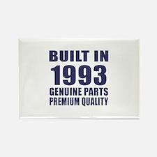 Built In 1993 Rectangle Magnet
