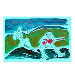 Duo on BlueMountain Postcards (Pkg of 8)