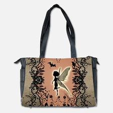 Cute fairy silhouette Diaper Bag
