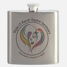 Unique Horse rescue Flask