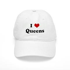 I Love Queens Baseball Cap