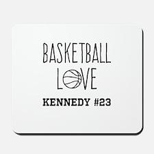 Basketball Love Personalized Mousepad
