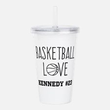 Basketball Love Personalized Acrylic Double-wall T