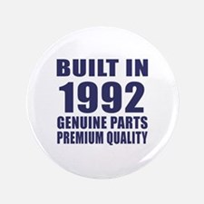 Built In 1992 Button