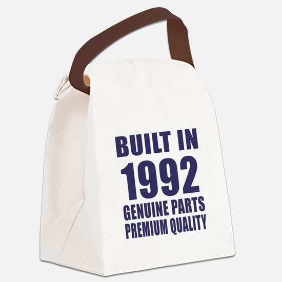 Built In 1992 Canvas Lunch Bag