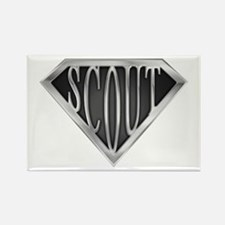 SuperScout(Metal) Rectangle Magnet