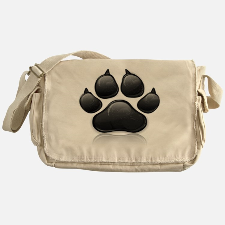 Cute Money dog Messenger Bag