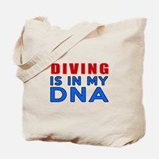 Diving Is In My DNA Tote Bag