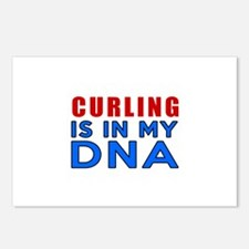 Curling Is In My DNA Postcards (Package of 8)