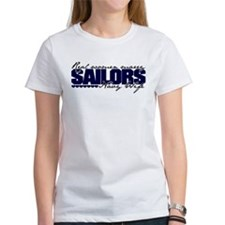 Real women marry Sailors Tee