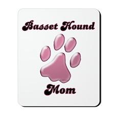 Basset Hound Mom3 Mousepad