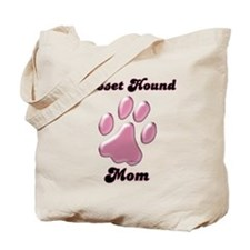 Basset Hound Mom3 Tote Bag