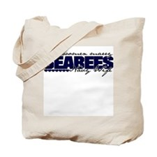 Real women marry Seabees Tote Bag
