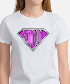 SuperScout(Pink) Tee