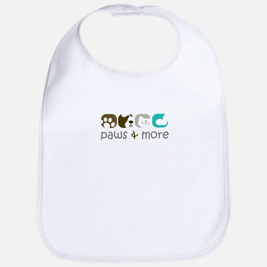 paw and more Bib