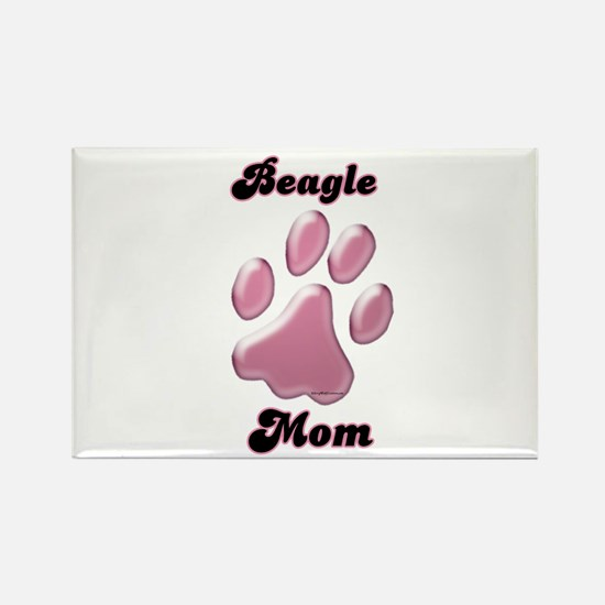 Beagle Mom3 Rectangle Magnet