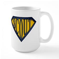 SuperScout(Gold/Blue) Mug