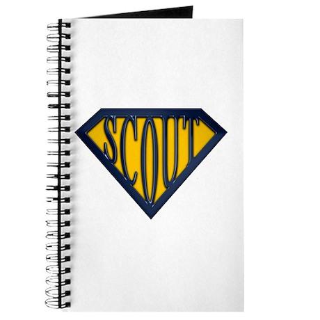 SuperScout(Gold/Blue) Journal