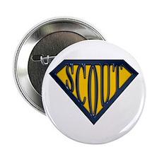 "SuperScout(Gold/Blue) 2.25"" Button (10 pack)"