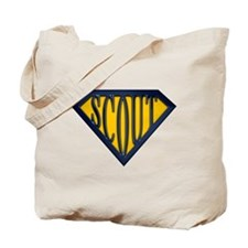 SuperScout(Gold/Blue) Tote Bag