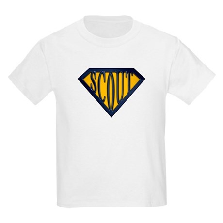 SuperScout(Gold/Blue) Kids Light T-Shirt