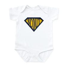 SuperScout(Gold/Blue) Infant Bodysuit