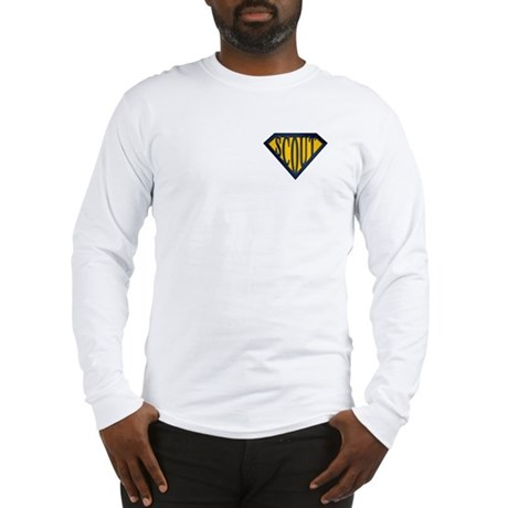 SuperScout(Gold/Blue) Long Sleeve T-Shirt