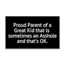 Proud Parent Car Magnet 20 x 12