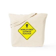 Teacher German Tote Bag