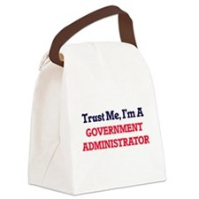 Trust me, I'm a Government Admini Canvas Lunch Bag