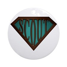 SuperScout(Green) Ornament (Round)