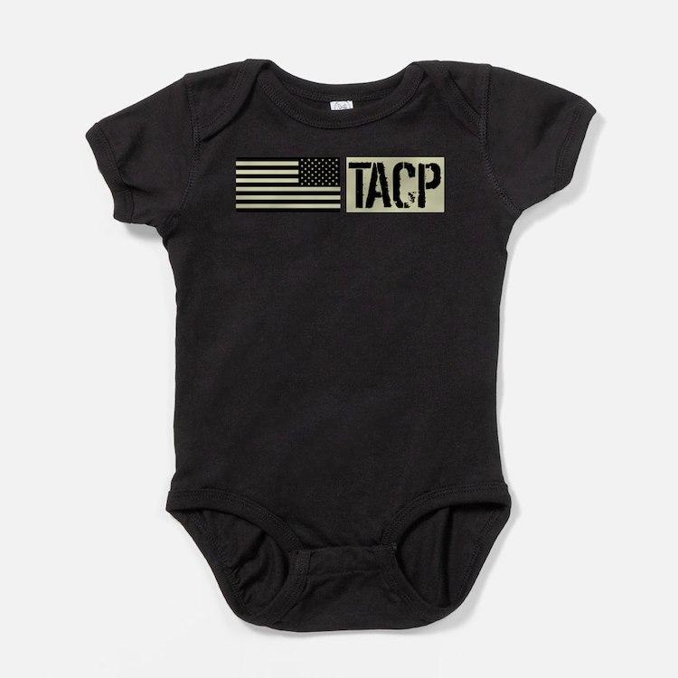 U.S. Air Force: TACP (Black Flag) Baby Bodysuit
