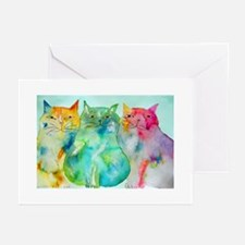 Haleiwa Cats Greeting Cards