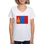 Mongolia Women's V-Neck T-Shirt