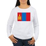 Mongolia Women's Long Sleeve T-Shirt