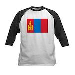 Mongolia Kids Baseball Jersey