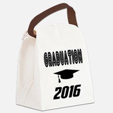 Graduation 2016 designs Canvas Lunch Bag