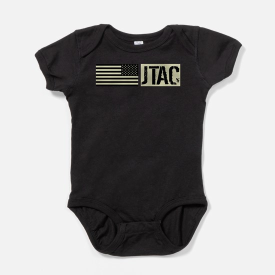 U.S. Air Force: JTAC (Black Flag) Baby Bodysuit
