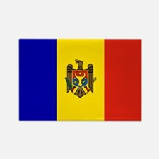 Moldova Rectangle Magnet