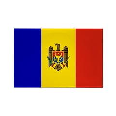 Moldova Rectangle Magnet (10 pack)