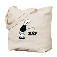 Piss on Rap Tote Bag