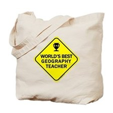 Teacher Geography Tote Bag