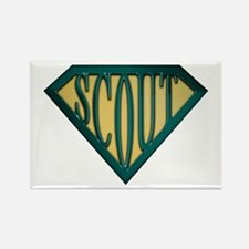 SuperScout(Tan) Rectangle Magnet