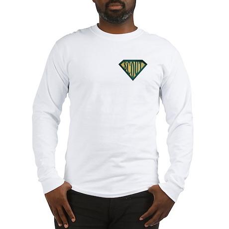 SuperScout(Tan) Long Sleeve T-Shirt