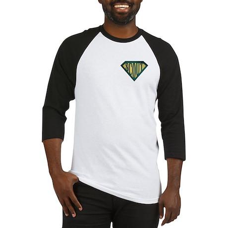 SuperScout(Tan) Baseball Jersey