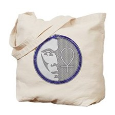 Winter Pagan Moon Tote Bag