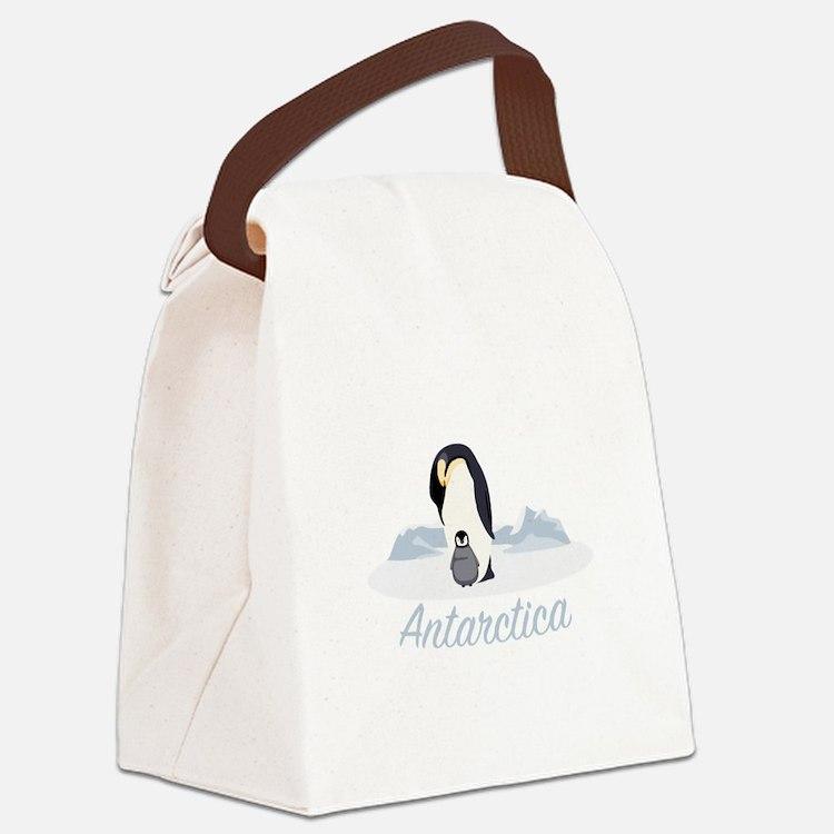 Antarctica Canvas Lunch Bag
